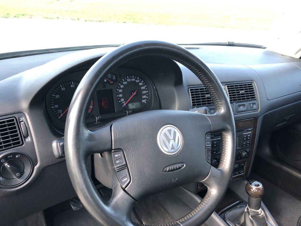VW Golf 4 GTI Cockpit