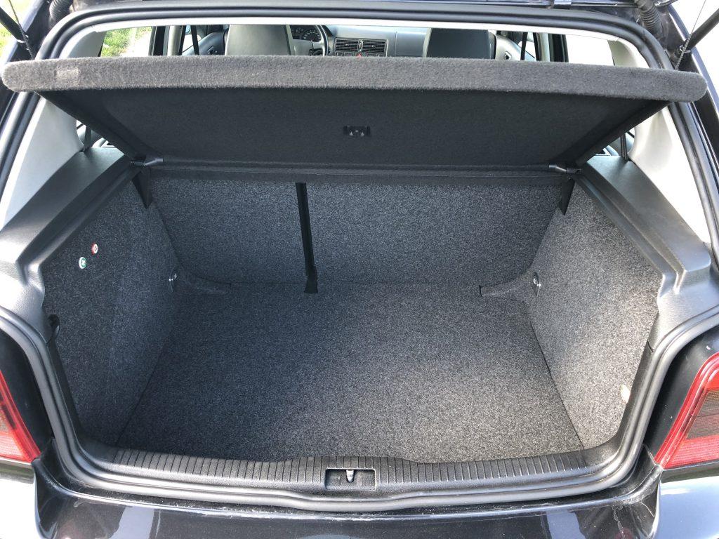 VW Golf 4 GTI Kofferraum